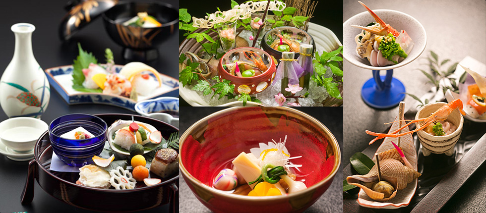 Sophisticated Japanese cuisine that reflects the season